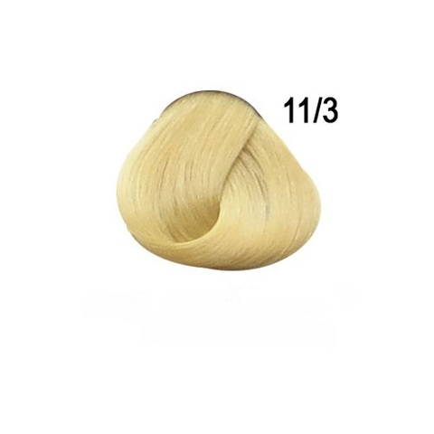 Перманентная крем-краска для волос Ollin 11/3 специальный блондин золотистый