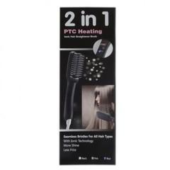 Электрическая расческа-выпрямитель PTC Heating 2 в 1