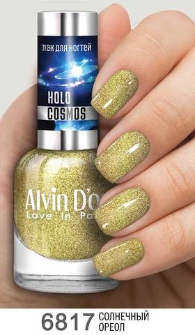 Alvin D`or Лак для ногтей HOLO COSMOS тон  6817