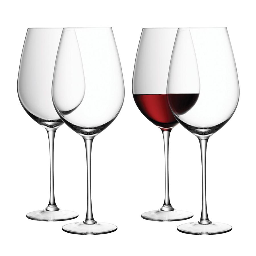 Набор из 4 бокалов для красного вина «Wine», 850 мл бокал для белого вина pearl 4 шт lsa g1332 12 401