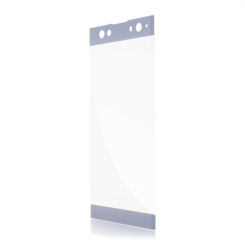 Защитное стекло для Xperia XA2 Ultra голубого цвета