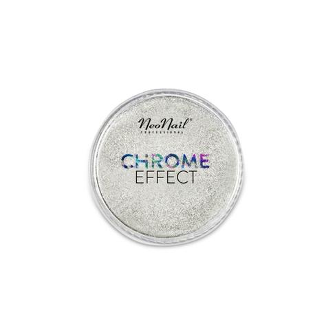 NeoNail Пудра с эффектом хрома Chrome Effect (зеркало-серебро) 5285