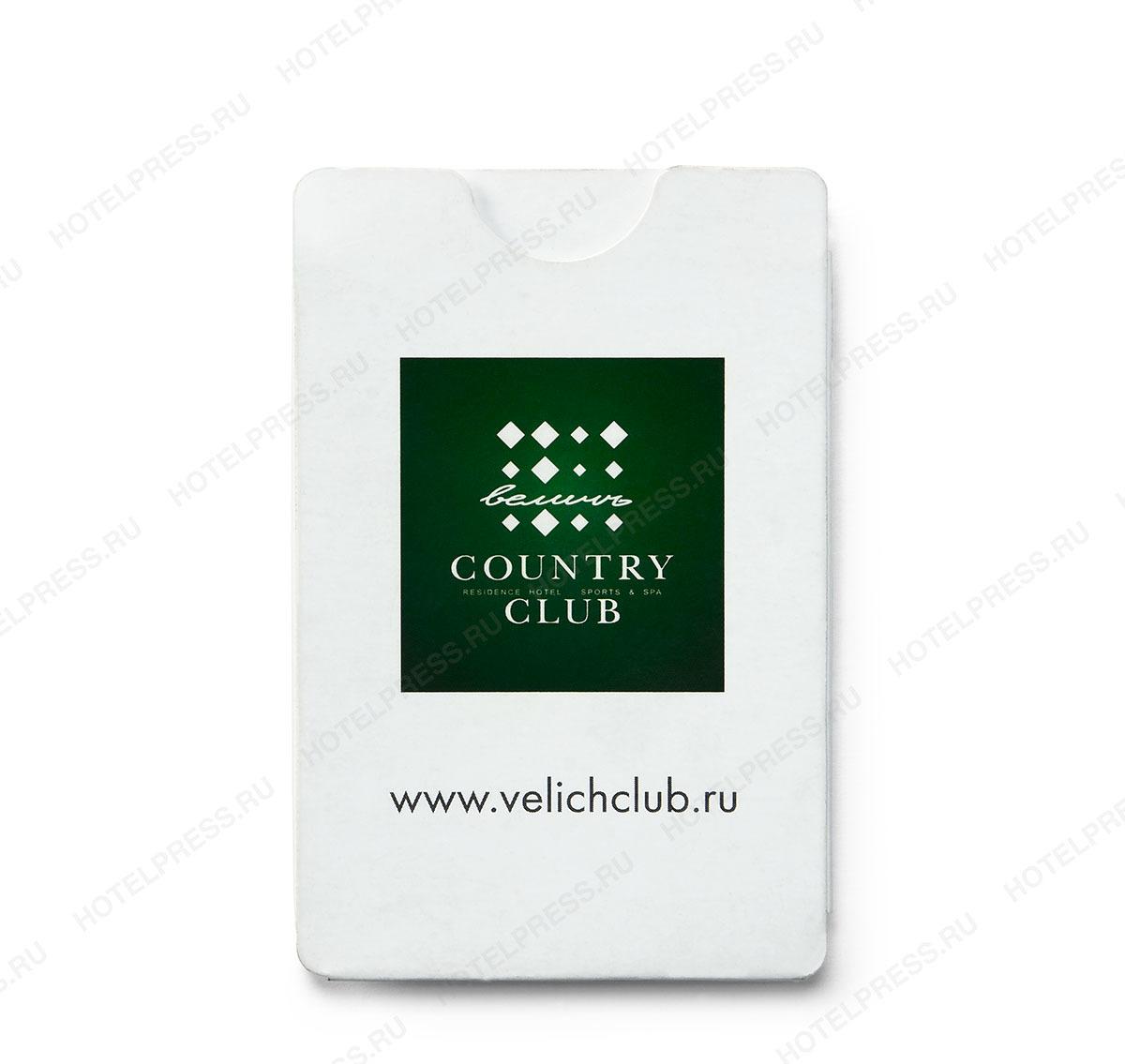 Z-card с карманом под ключ-карту.