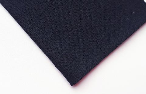 Кулирная ткань (100%- х/б) 15х15см, черный