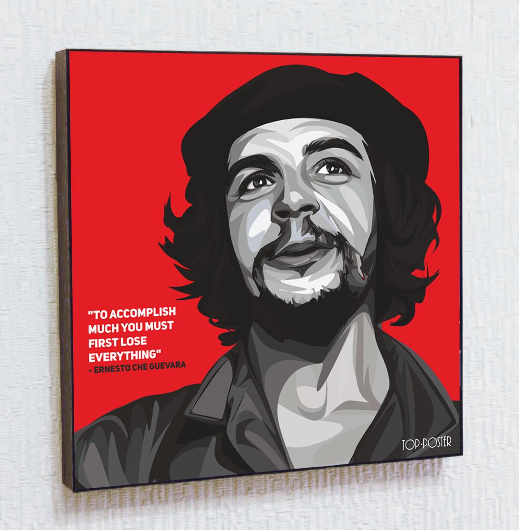 Картина ПОП-АРТ Эрнесто Че Гевара портрет TOP POSTER