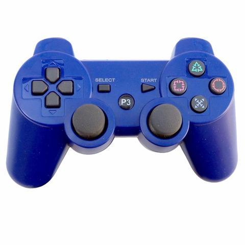 Джойстик для PS3 беспроводной синий (геймпад Bluetooth Плейстейшн)