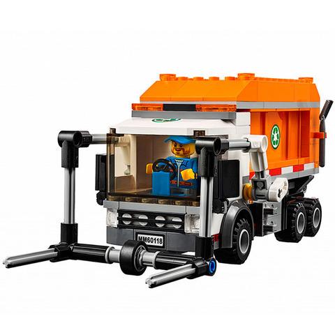 LEGO City: Мусоровоз 60118 — Garbage Truck — Лего Сити Город