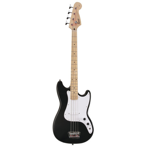 FENDER SQUIER AFFINITY BRONCO BASS MN BLACK Бас-гитара
