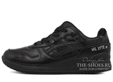 Кроссовки Мужские Asics Gel LYTE III All Black Leather