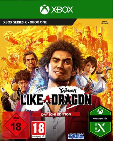 Yakuza: Like a Dragon. Day Ichi Edition (Xbox One/Series X, английская версия)