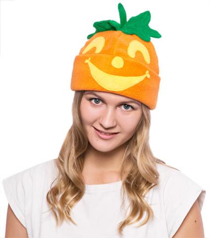 Карнавальная шапка Тыква