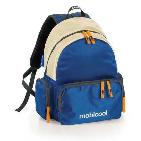 Термосумка (терморюкзак) MobiCool Sail (13 л.), синяя