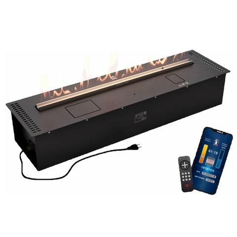 Автоматический биокамин Good Fire 1000 RC Black
