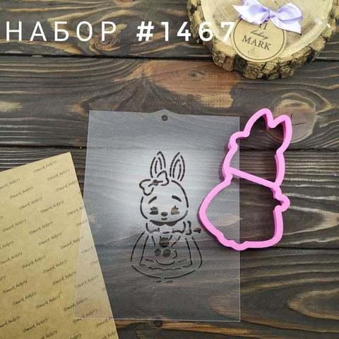 Набор №1467 - Зайка