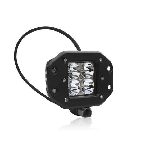 Светодиодная LED фара врезная дальнего света 40 Вт Аврора