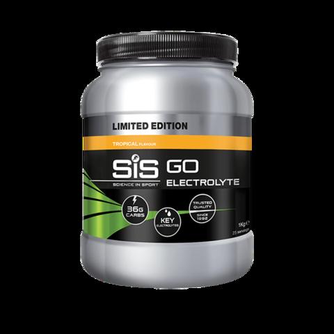 SIS GO Напиток углеводный с электролитами в порошке, вкус Тропические фрукты, 1кг