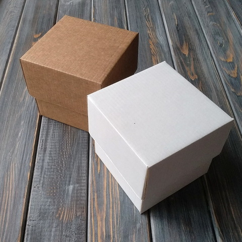 Коробка мгк КУБИК С КРЫШКОЙ (100*100*100мм)