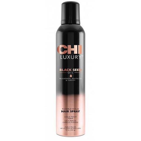 CHI | Лак для волос CHI Luxury с маслом семян черного тмина подвижной фиксации, (340 г)