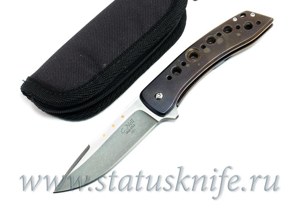 Нож Chad Nell «ESG Flipper #001» - фотография