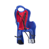 Велокресло для детей HTP ELIBAS T (синее), крепление к подседельной трубе