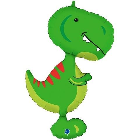 Воздушный шар фигура Динозавр Тираннозавр, 97 см