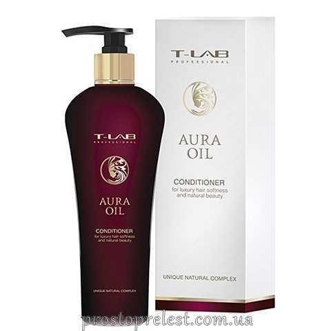 T-LAB Professional Aura Oil Conditioner - Кондиционер для роскошной мягкости и естественной красоты