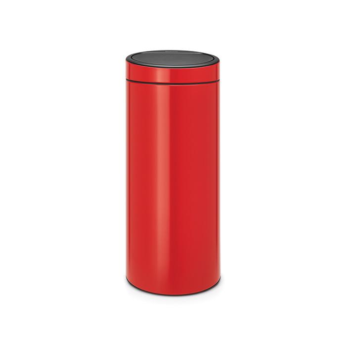 Мусорный бак Touch Bin New (30 л), Пламенно-красный, арт. 115189 - фото 1