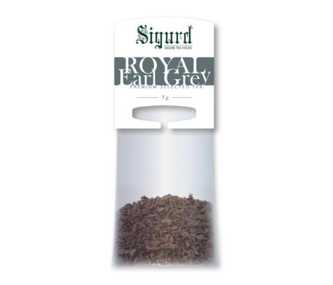 Чай Sigurd Эрл Грей Королевский на чайник (15 пак)