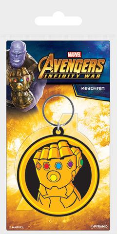 Брелок силиконовый «Мстители: Война бесконечности (Перчатка бесконечности)»
