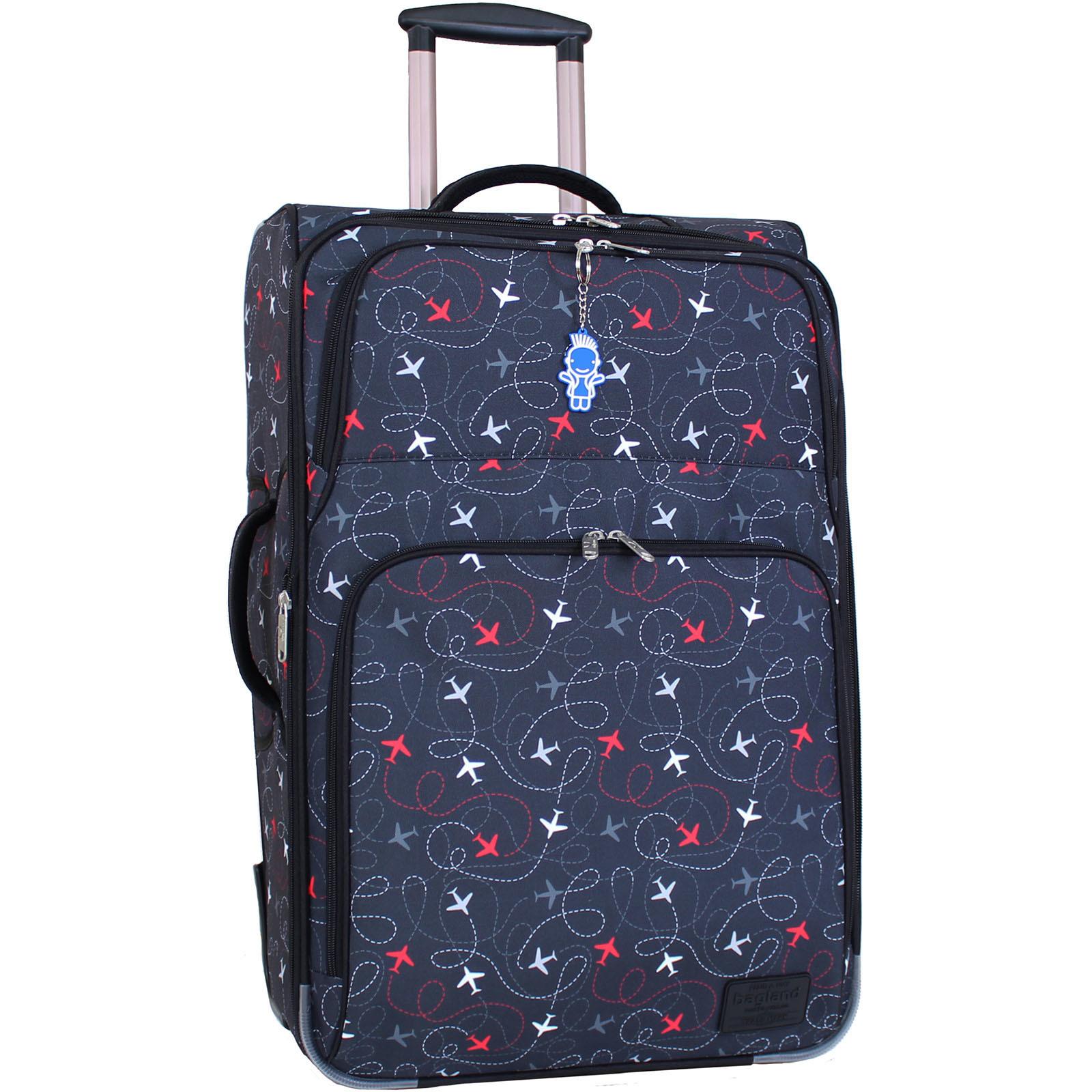 Дорожные чемоданы Чемодан Bagland Леон большой дизайн 70 л. сублімація 265 (0037666274) IMG_9772.JPG