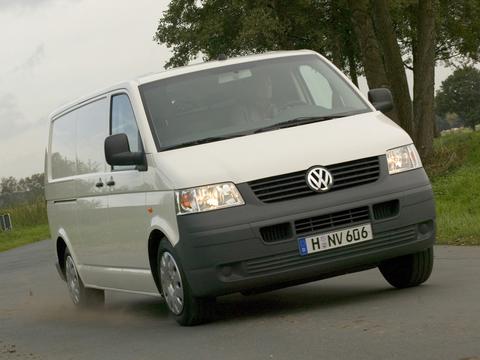 Чехлы на Volkswagen T5 фургон Multivan / Caravelle / Transporter 2003–2009 г.в.