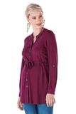 Блузка для беременных 11056 бордовый