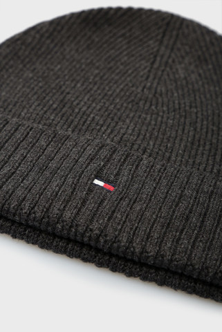 Мужская темно-серая шапка PIMA Tommy Hilfiger
