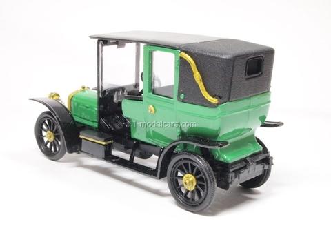 Russo-Balt C24-30 Landole 1910 green Agat Mossar Tantal 1:43