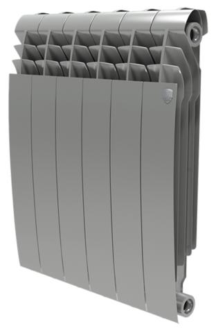 Радиатор Royal Thermo BiLiner 500 Silver Satin - 12 секций