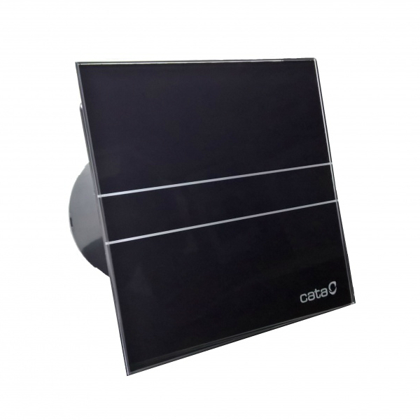 Cata E glass series Накладной вентилятор Cata E 100 G Bk (Black) черный + обратный клапан __33.jpg