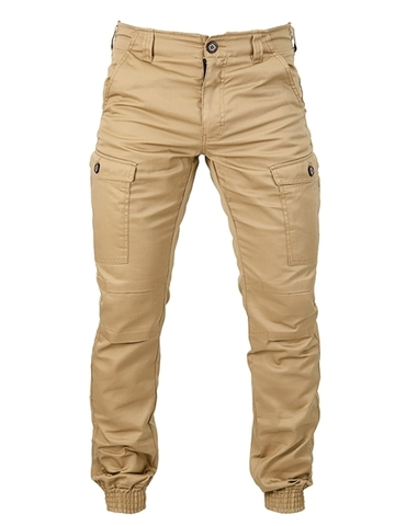 Beige military trousers