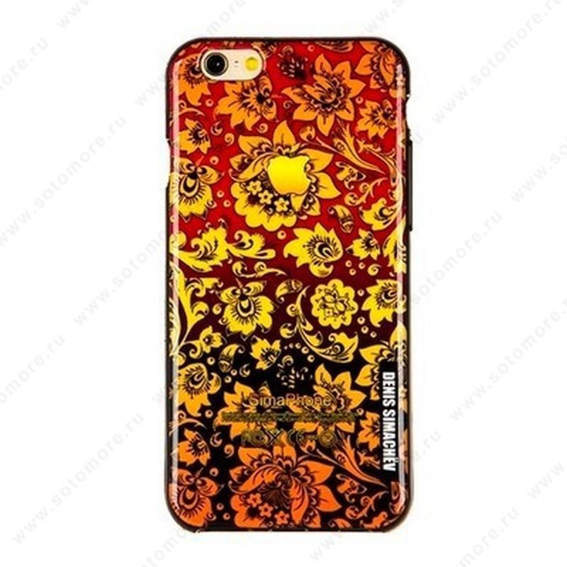 Накладка Denis Simachev силиконовый для Apple iPhone 6s Plus/ 6 Plus вид 21