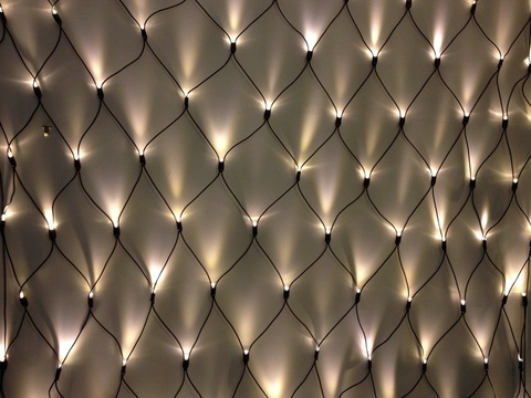 Гирлянда сеть 2 метра на 3 метра 420 LED