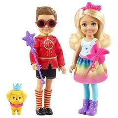 Barbie Dreamtopia Chelsea & Otto Dolls with Puppy