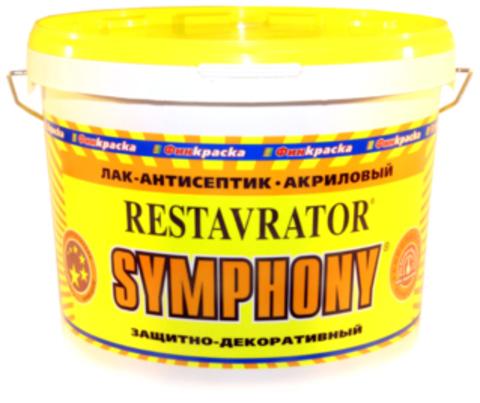 SYMPHONY RESTAVRATOR – лак-антисептик глянцевый, шелковисто-матовый