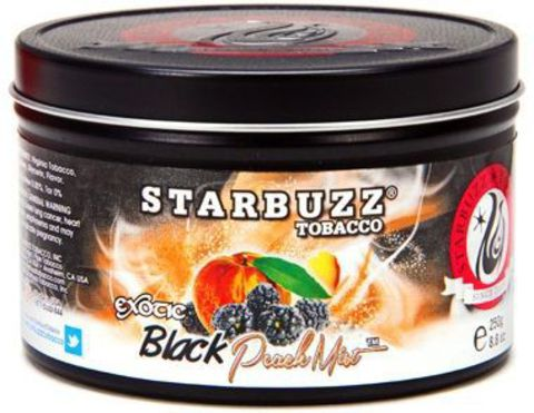 Starbuzz Black Peach Mist