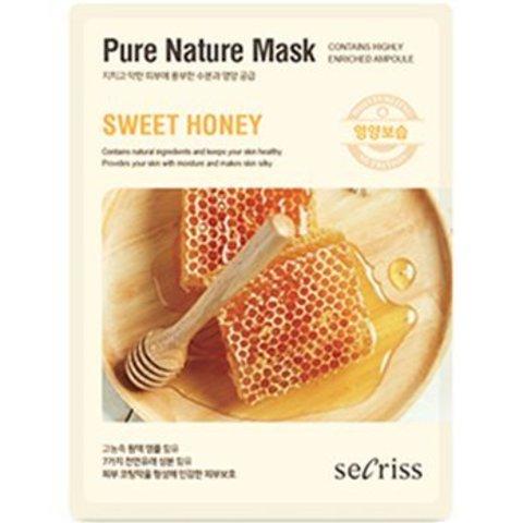 Маска тканевая медовая ANSKIN Secriss Pure Nature Mask Pack Sweet honey 25мл