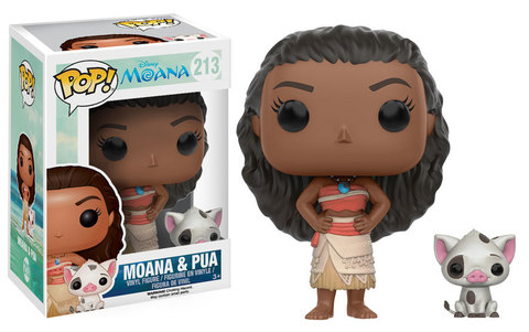 Фигурка Funko Pop! Disney: Moana - Moana & Pua