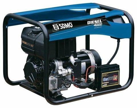 Кожух для дизельного генератора SDMO Diesel 4000 (3400 Вт)