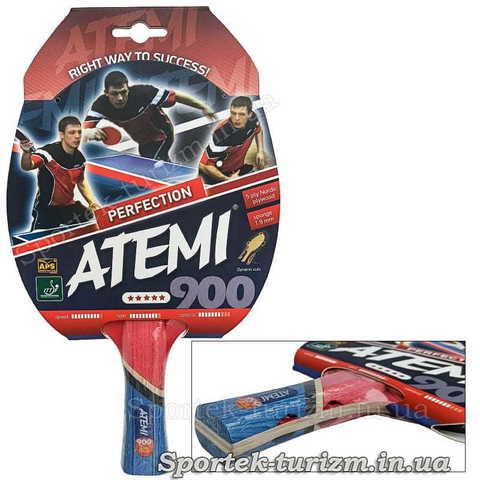 Ракетка для професіоналів настільного тенісу Atemi 900 Perfection