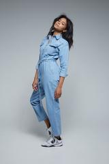 джинсовый комбинезон женский