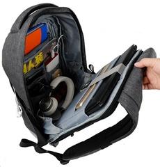Рюкзак антивор Tigernu T-B3237 тёмно-серый