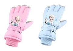 Холодное сердце перчатки детские Эльза и Олаф