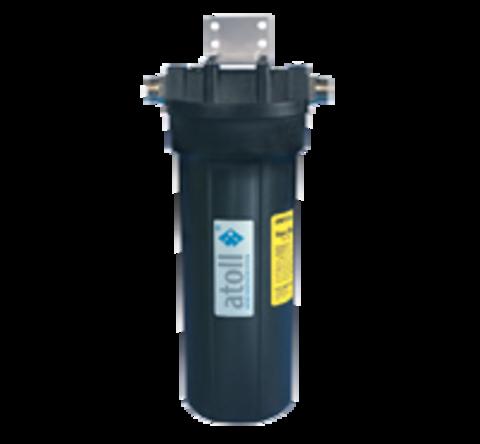 Фильтр A-211Eg, двухступенчатый с умягчением (гексаметафосфат) под кухонную мойку с краном - Atoll